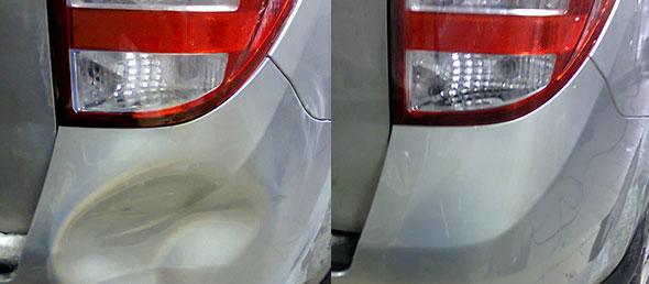 usuwanie szkód parkingowych